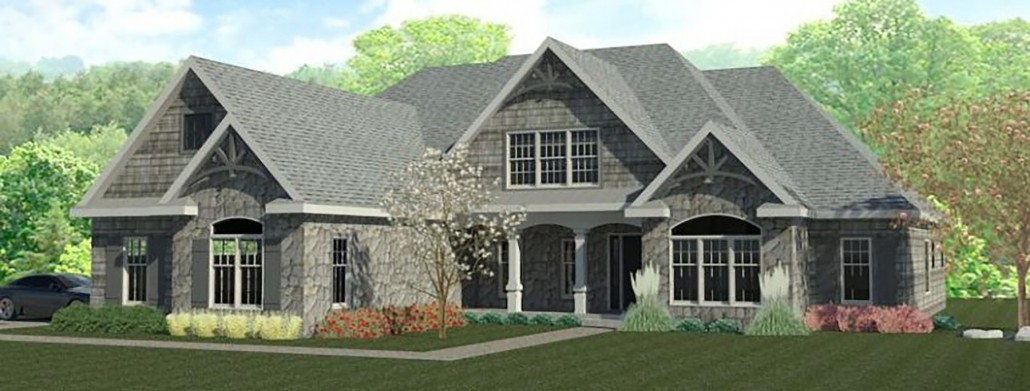 Oakmont - award winning model home from North Star Premier Custom Home builders